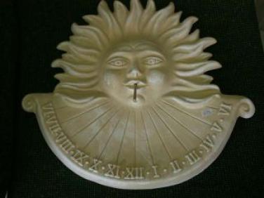 Keramické sluneční hodiny Natural M