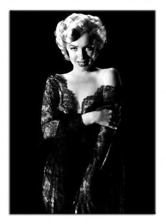 Obraz na zeď Marilyn Monroe L - černé šaty 2