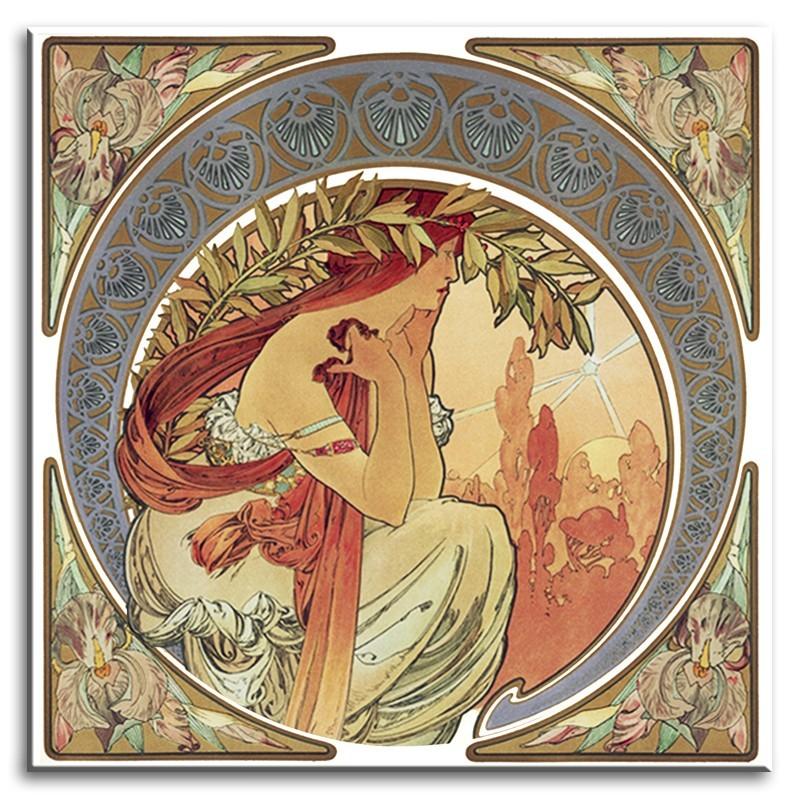 Obraz na zeď Alfons Mucha - Kosatce