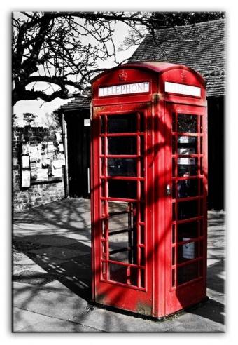 Obraz na zeď London maxi - Telefonní budka