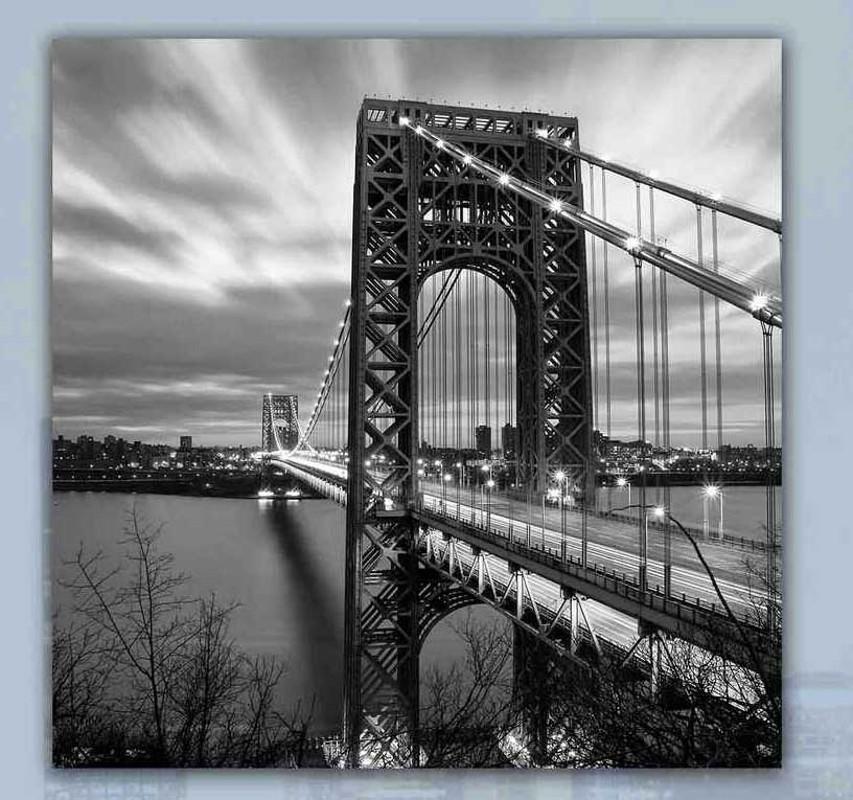 Skleněný obraz Most
