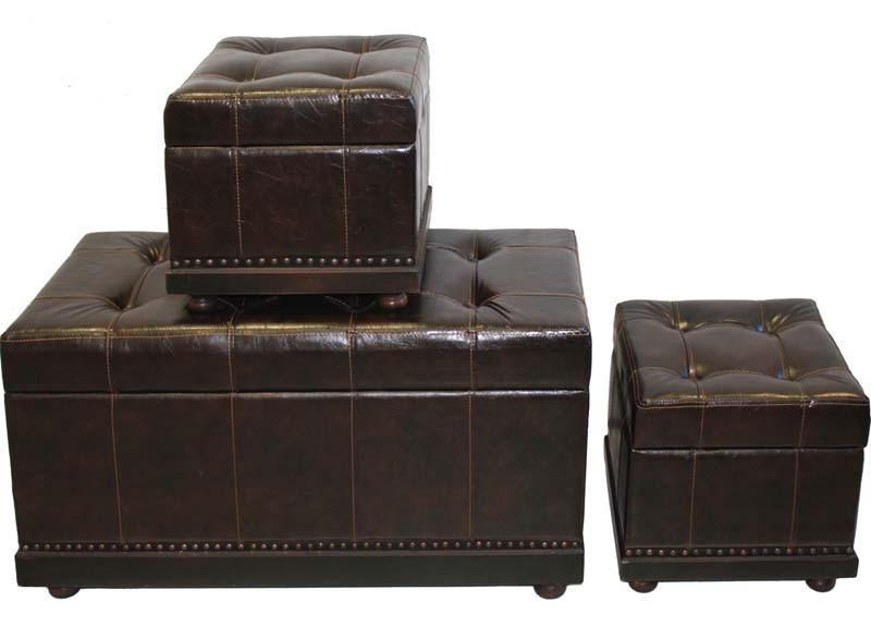 Čalouněná lavice a 2 stoličky Chesterfield Family