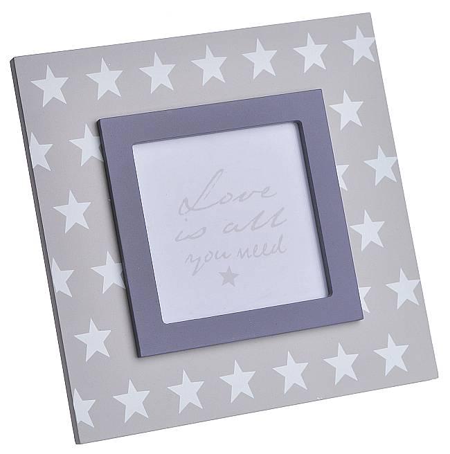 Dřevěný fotorámeček Hvězdy