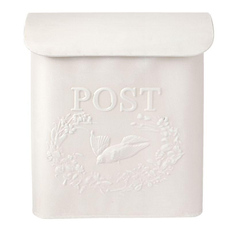 Poštovní schránka bílá Ptáček - poškozeno