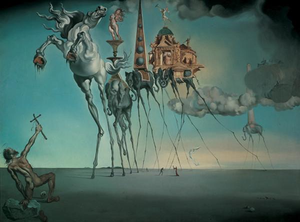 Obraz na zeď - Salvator Dali La Tentation De St.Antoine