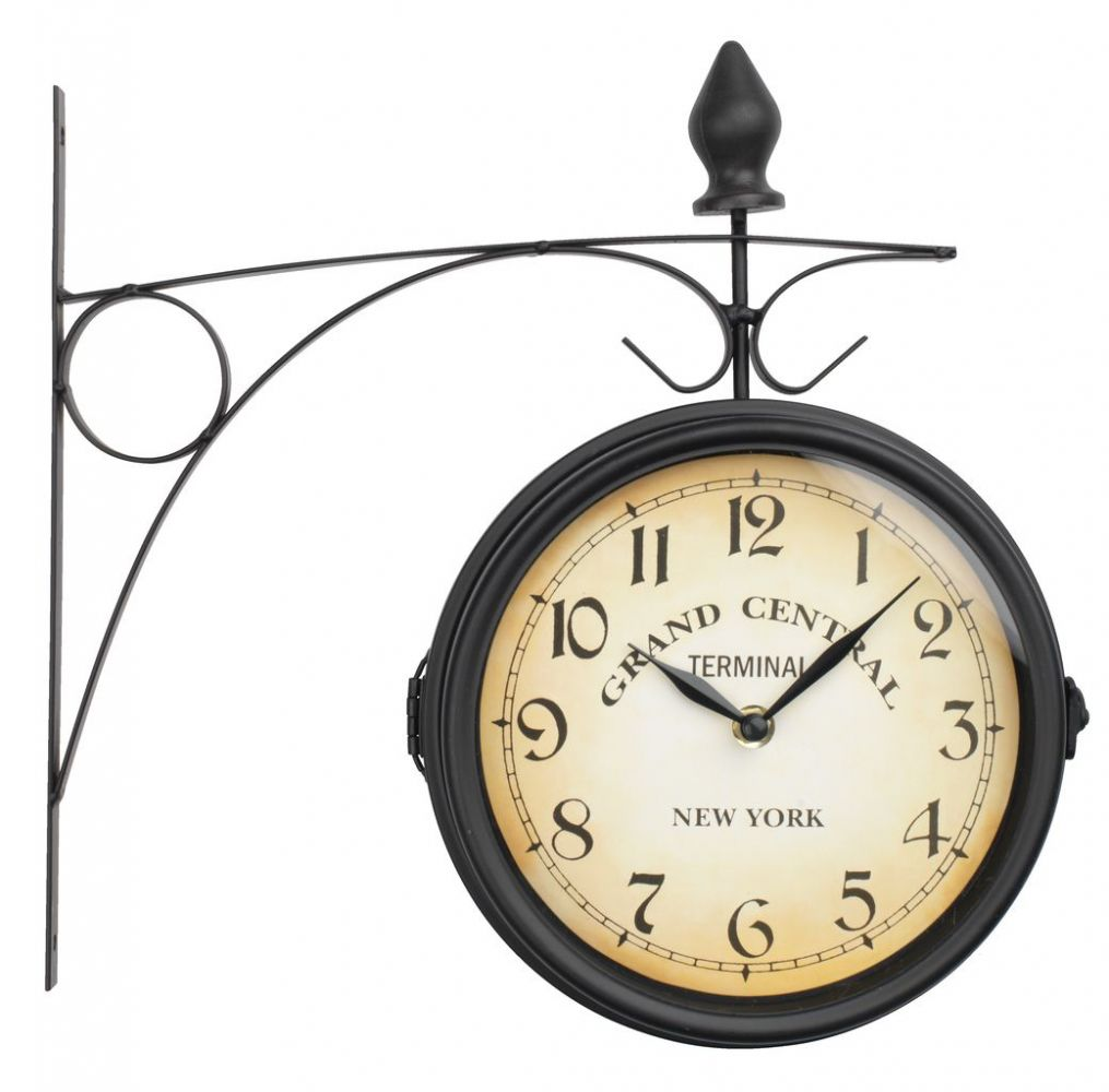 Nádražní hodiny oboustranné Grand central terminal