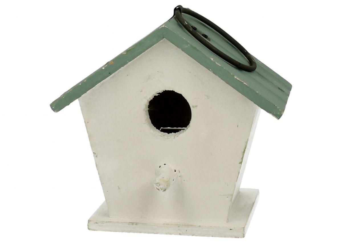Ptačí budka Domek bílý